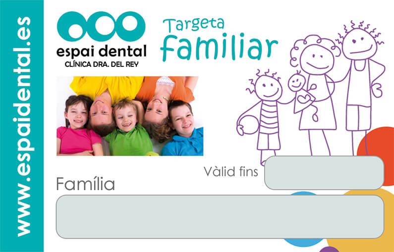 Carnet familiar Espai Dental, clínica dental en Barcelona